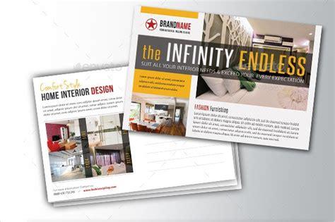 postcard designs psd eps word format design