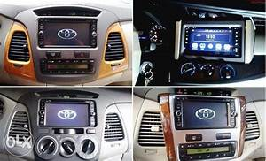 Toyota Innova Car Tv Dvd Gps Android Head Unit Stereo  Car
