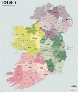Administrative Counties Of Ireland
