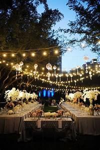 Outdoor Wedding Reception Decoration Ideas - Weddings By Lilly
