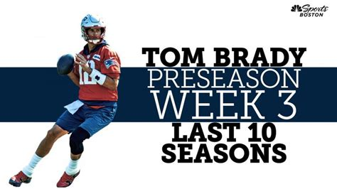 Tom Brady fired up for preseason game vs. Panthers: 'Let's ...