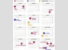 Calendario laboral de Barcelona del 2018 con todos los