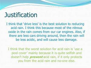 Solutions to acid rain pollution