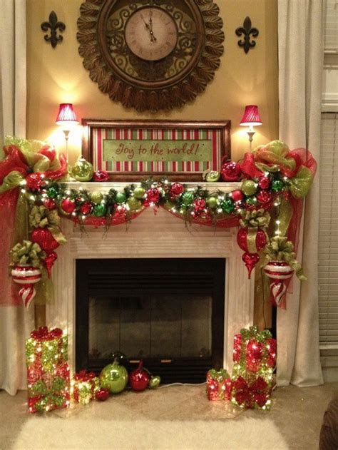 christmas mantels ideas  pinterest christmas