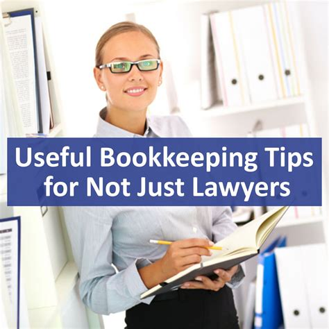 Useful Bookkeeping Tips For Not Just Lawyers  Noel B