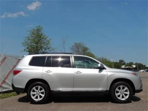 find   toyota highlander  certified suv