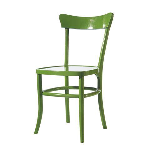 chaise verte chaise verte bistrot maisons du monde