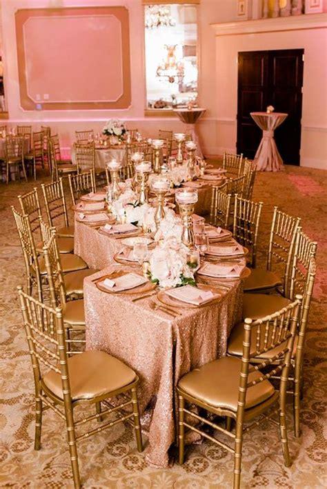 42 Glamorous Rose Gold Wedding Decor Ideas Rose gold