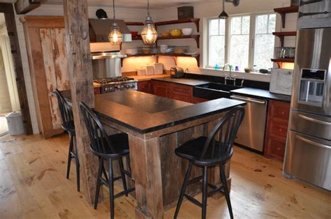 Cape Elizabeth Cottage  Rustic  Kitchen  Portland Maine