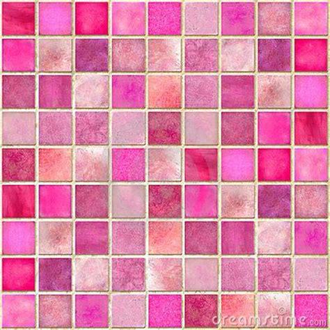 pink tile home