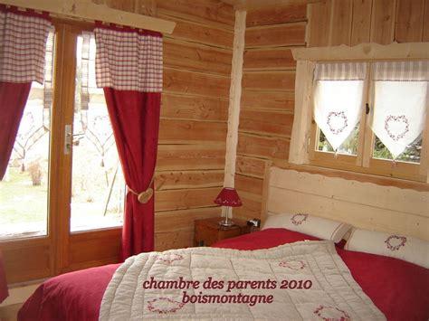 deco chambre montagne décoration rideaux chalet montagne
