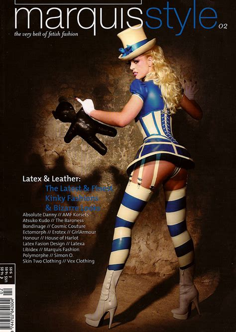 press marquis style bondinage fetish fashion latex