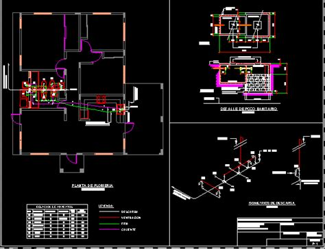 map  plumbing  sanitary dwg detail