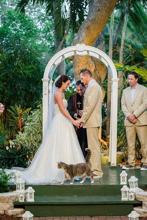 ernest hemingway house wedding  key west florida