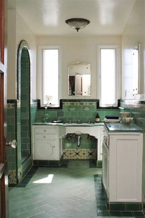 retro tiles kitchen 30 great pictures and ideas of fashioned bathroom tile 1950