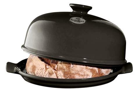 cloche de cuisine coffret cloche emile henry couleur fusain noir