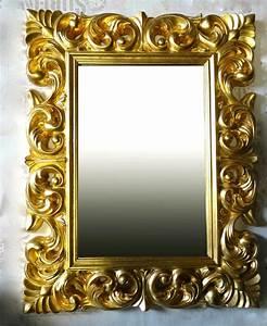 Großer Spiegel Silber : gro er barock wandspiegel ornament 70x90 standspiegel spiegel gold flurspiegel kaufen bei ~ Whattoseeinmadrid.com Haus und Dekorationen