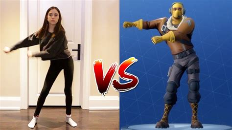 fortnite dance challenge  real life youtube