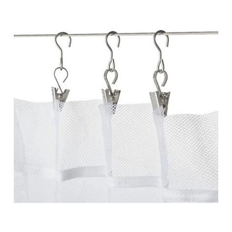 crochet de rideau avec pince riktig tringle rideaux et salle de bain ikea