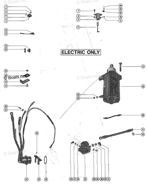 Mercury Solenoid Wiring by Wrg 6653 40 Hp Mercury Outboard Starter Solenoid Wiring