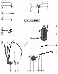 Mercury Mercury  U0026 Mariner Outboard Parts By Hp  U0026 Liter 40hp Oem Parts Diagram For Starter Motor