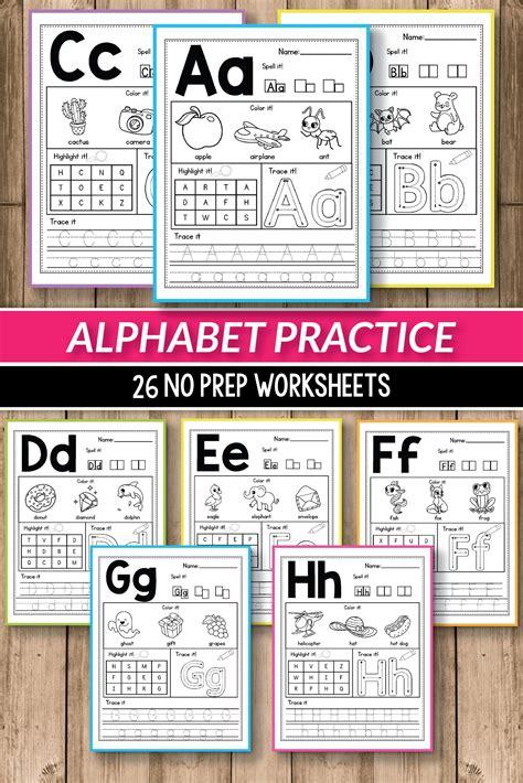 alphabet worksheets primary  alphabet printable