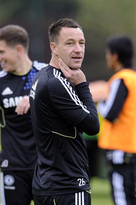 Chelsea Train At Cobham Ahead Of FA Cup Final (Photos ...