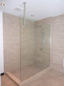 beeindruckend douche sans porte on decoration d interieur With plan douche italienne sans porte