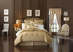 Anya, Pale, Gold, By, Waterford, Luxury, Bedding