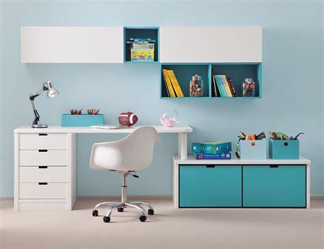 bureau pour enfants bureau enfant avec meuble de rangement et niche déco