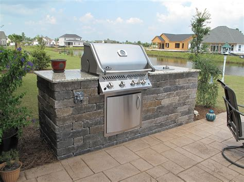 Backyard Grill Bbq by Extended Outdoor Bbq Island Compass Pointe Leland Nc In