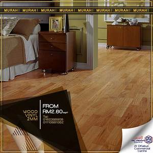 promo pvc flooring at low price wood effect viinyl With wood flooring price malaysia