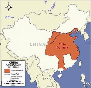 Qin Dynasty Map - The Art of Asia - History and Maps ...