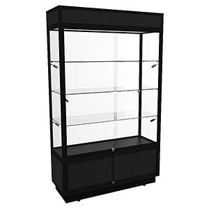 fully assembled storage cabinets tsf 1200 upright display cabinet with led lights and