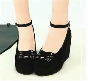 Cute High Heels Wedges Shoes