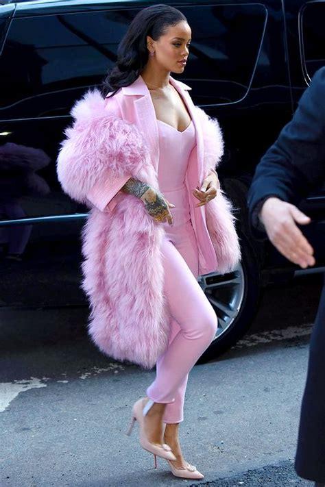 Rihanna heading to Good Morning America. | Chic | Pinterest | Head to America and Rihanna looks