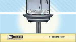 The can converter model r how to install pendant