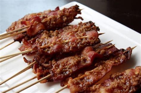 maple walnut bacon   stick chatelaine