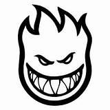 Coloring Skateboard Spitfire Pages Skate Flame Skull Skater Flames Sticker Logos Thrasher Decal Sheets Tattoo Skateboarding Designs Template Crafts Brand sketch template