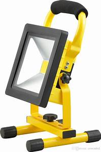 Cree Led Flood Lights Portable Led Rechargeable Outdoor Flood Light 10w 20w 30w