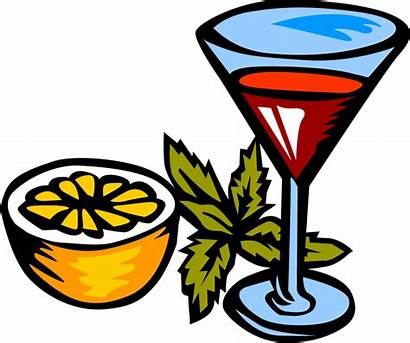 Drink Martini Clipart Glass Girly Clip Drinks