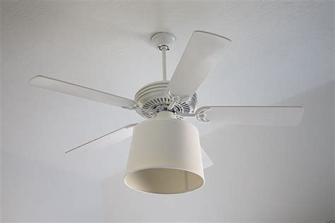 fan light shades diy ceiling fan drum shade upgrade withheart