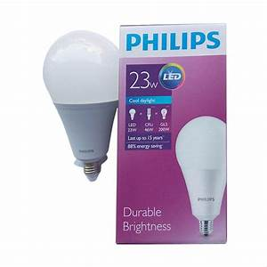 Jual Lampu Bohlam Led Philips 23w 23watt 23 W 23watt Putih