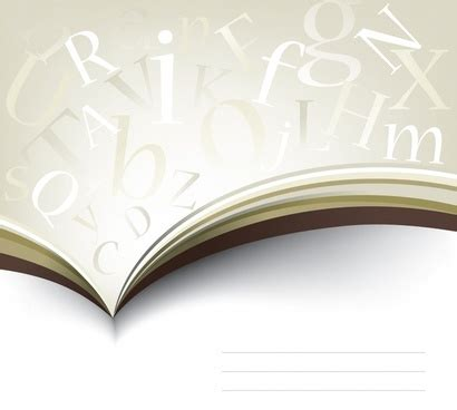 books letters  vector  vector  encapsulated