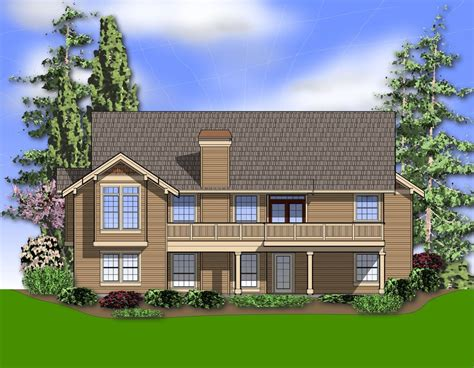 Craftsman Style House Plan 4 Beds 3 Baths 2964 Sq/Ft