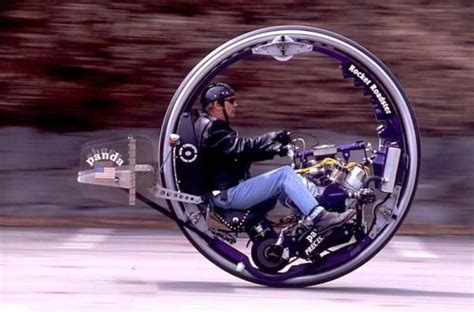 Single Wheel Motorcycle, Pretty Sweet, Not Gonna Happen
