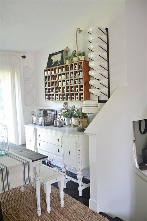 dining room plate rack repurposed decor dining room kitchen dining room
