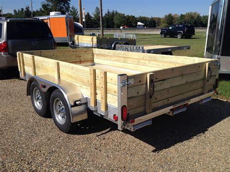bed frame parts aluminum utility trailer ut series wood floor w wood