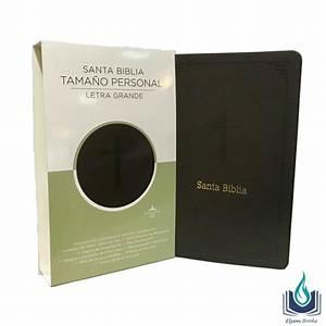 Biblia Tama U00d1o Personal Letra Grande  Imitaci U00d3n Piel
