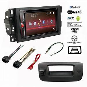 Pioneer Double Din Bluetooth Stereo Backup Camera Chevy